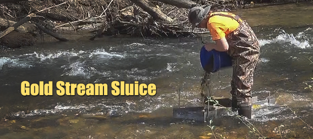 Gold Stream Sluice